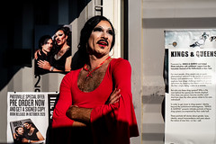 Kings and Queens (Gisele Duprez) Tags: leica leicaq drag king queen nyc