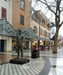 Cardiff (menchuela) Tags: cardiff march city menchuela streetart