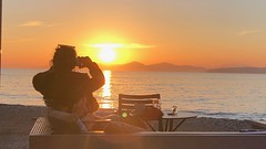 The Moment of Sunset (RobW_) Tags: sunset palaio faliro edem beach athens greece monday 18mar2019 march 2019