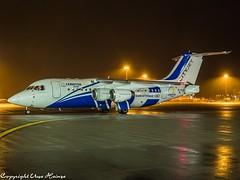 CityJet EI-RJX HAJ at Night (U. Heinze) Tags: aircraft airlines airways airplane planespotting plane night olympus 1240mm haj hannoverlangenhagenairporthaj eddv
