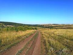 Далее мы простились. Саша поехал домой, Миха попер в Нижнюю Чиглу к другу Сане, а я поехал в сторону Урюпинска, естественно берегами Хопра.