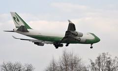 CAL 4X-ICD, OSL ENGM Gardermoen (Inger Bjørndal Foss) Tags: 4xicd cal boeing 747 cargo osl engm gardermoen