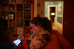 (patrickjoust) Tags: sony a7 nikkor 50mm f12 ai manual focus lens digital patrick joust patrickjoust baltimore maryland md usa us united states north america estados unidos home domestic amy llewelyn mother child boy kid living room couch dark sofa