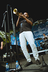 French Quarter Festival - Leroy Jones