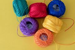 Mish Mash (Rushay) Tags: balls backgrounds cotton textile yarn yellow portelizabeth southafrica