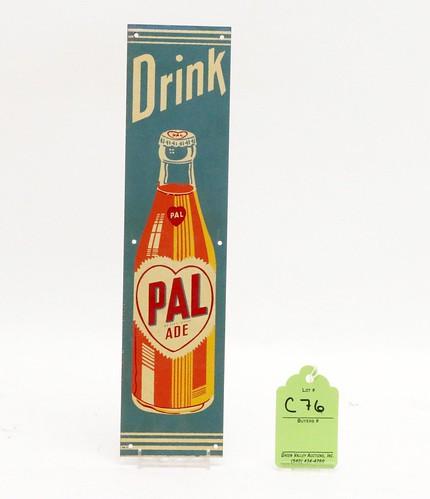 Pal Ade Soda Metal Door Push ($145.60)