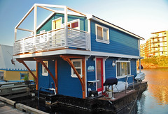 Fisherman's Wharf Houseboat. Victoria, BC. (Infinity & Beyond Photography: Kev Cook) Tags: fishermans wharf houseboat victoria britishcolumbia bc canada boats houseboats
