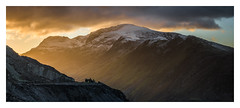 Dinorwig - January 17th (Edd Allen) Tags: mountain northwales wales clouds dinorwig landscape mountainscape atmosphere atmospheric sunrise nikond810 nikkor70200mm serene bucolic uk dinorwic quarry slate pano panorama
