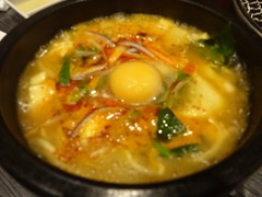 Tofu Jjigae @Yakiniku-Daigo, Tokyo (Phreddie) Tags: wagyu beef meat yakiniku bbq japanese korean food delicious restaurant tokyo japan happy dinner