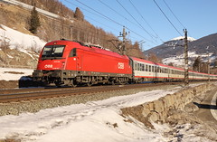 ÖBB 1216 006-7 Eurocity, Matrei am Brenner (TaurusES64U4) Tags: öbb taurus 1216