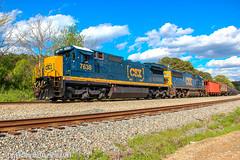 CSX K426-04 (Steve Hardin) Tags: locomotive engine standardcab c408 sd50 emd csx wa westernatlantic railroad railway railfan train ethanol tankcar emerson georgia