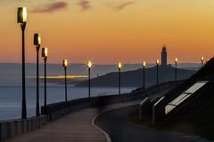 AMANECER... (Emilio Rodríguez Álvarez) Tags: coruña paseo maritimo amanecer sun sea long expositure larga exposición 6d canon markii galicia spain españa