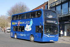 Bluestar 1564 HJ63 JNU (johnmorris13) Tags: bluestar 1564 hj63jnu alexanderdennis enviro400 bus