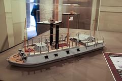City class gunboat (RPahre) Tags: arkansas arkansaspost arkansaspostnationalmemorial gunboat cityclassgunboat ironclad union civilwar