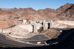 Hoover Dam, 3 (jbp274) Tags: hooverdam cliffs landscape dam structure parkinglot road