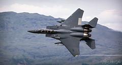 McDonnell Douglas F-15E Eagle LN AF 91 316 (Steve Moore-Vale) Tags: boeing f15e bwlchtop eagle f15 lowlevel machloop mcdonnelldouglas jet military wales contrails aviation plane hills valley