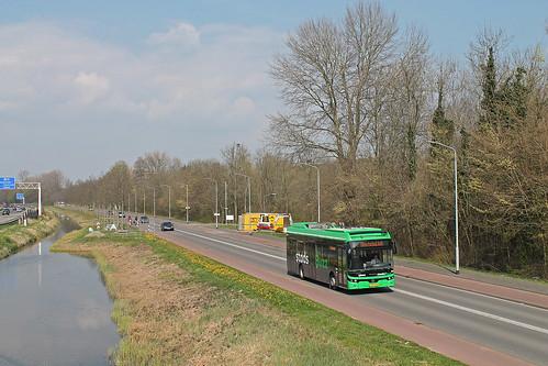Qbuzz 6119 - Dordrecht, Laan van Londen