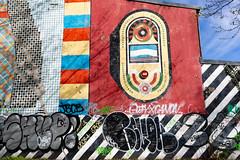 Gruenspan I (Rasande Tyskar) Tags: 60s popart pop art gruenspan club music musik facade wand wandmalerei mural 1969 streetart hamburg stpauli retro