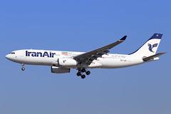 Iran Air  Airbus A330-243 EP-IJA (widebodies) Tags: frankfurt main fra eddf widebody widebodies plane aircraft flughafen airport flugzeug flugzeugbilder iran air airbus a330243 epija