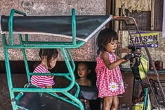 Children (Beegee49) Tags: people street children playing talking happy planet luminar city bacolod sony philippines a6000 asia