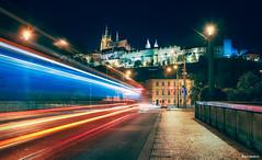 Lovely Prague. (_Anathemus_) Tags: st vitus cathedral pražský hrad castle prague czech night shot long exposure nikon d750 republic praha