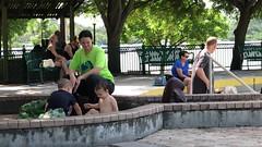 Bayfront Park, Sarasota IMG_2513 (soniaadammurray - On & Off) Tags: video children park water fun bench family watch marinajackwaterpark play enjoyment familyactivities artchallenge benchmonday benches