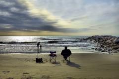Fuori stagione (Michelecimitan) Tags: michelecimitan spiaggia plage beach vento italie italy italia europe europa tramonto