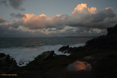 3KA12361a_C_2019-01-29 (Kernowfile) Tags: pentax cornwall cornish cloudscape theisland stives godrevylighthouse water sea sky clouds puddle reflections pentaxforums