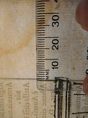 1567 paper used by Di Ferrari, cross grain (The Rare Book Detective: books, type, watermarks) Tags: historiatedcapitals decoratedinitials typography tipografia printing printer imprimerie imprimeur imprenta impresso verlager drücker rarebooks antiquarianbooks venice vieuxlivres livresanciens librosantiguos libri illustrations ornaments oldbooks 1567