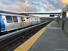 BART--3019 arr Daly City. 2 of 2 (milantram) Tags: electricrailtransport bart bartfleetofthefuture subways elevateds rapidtranst
