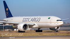 Saudia Airlines Cargo Boeing B777-2F  HZ-AK73 (SjPhotoworld) Tags: nederland netherlands holland maastrichtaachenairport maastricht mst ehbk beek airport airliner aviation aircraft airplane airline avgeek airliners airlines arrival b777 b777200 b777f boeingb777 t7 saudiarabian saudicargo hzak73 jeddah canon challenge delta fr24 runway freighter freight flickr flickrelite final charlie transport travel jumbo big sva lxvci cargolux b747 b7478f cv front saudia sky cockpit