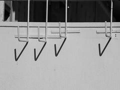 The Origin of Check Marks (zeevveez) Tags: זאבברקן zeevveez zeevbarkan canon bw shadow