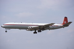 XS235 Brize Norton 24-7-1986 (Plane Buddy) Tags: xs235 comet aaee brize