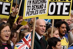 Put It To The People March - London, 23 March 2019 (The Weekly Bull) Tags: brexit britain conservative eu europeanunion liberaldemocrats london peoplesvote tory uk vincecable democracy demonstration protest rally rerun referendum remainers