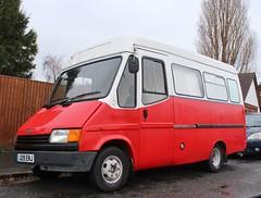 J219 ENJ (Nivek.Old.Gold) Tags: 1991 ford transit 190 welfare bus camper 2496cc diesel