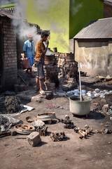 Backyard Smelter (Rod Waddington) Tags: africa afrique afrika madagascar malagasy antananarivo backyard smelter aluminium