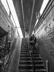 L´Hospitalet, B/N (efe Marimon) Tags: canonpowershots120 felixmarimon l´hospitalet barcelona bn bellvitge puente túnel tren