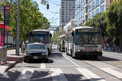 San Francisco (Jan Dreesen) Tags: sf san francisco california californië usa united states vs verenigde staten amerika america openbaar vervoer transport public transit municipal railway muni trolleybus sfmta embarcadero
