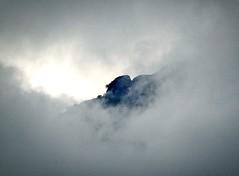 Mountain Peaks Peeping Through The Thick Cloud Overhang (Raphael de Kadt) Tags: drakensbergmountains clouds cloud mountains montusi montusimountainlodge southernhemisphere southafrica africa fujinonxf10040014xtc fujifilmxt3