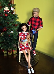 Baby's 1st Christmas (flores272) Tags: ken barbie toy toys doll dolls kendoll barbiedoll