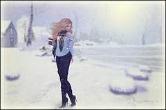 [ .....softest winter ] (morganmonroe1) Tags: addams blueberry gos petitemort wasabipills ks coffee winter ginger snowy secondlife sl avatar redhead mystictimbers