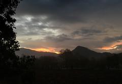 Some sunrises in autumn with Babadag in the distance (VillaRhapsody) Tags: sunrise autumn dawn kayaköy fethiye rural field babadag sun light