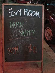 Ivy Room signboard (michaelz1) Tags: livemusic ivyroom albany damnskippy