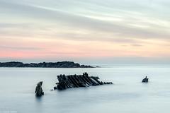 The wreck (Donard850) Tags: ardspeninsula countydown northernireland portavogie dawn longexposure rocks wreck
