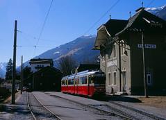 Alpen-Düwag (trainspotter64) Tags: strasenbahn streetcar tram tramway tranvia tramvaj tramwaje überlandbahn tirol österreich innsbruck stubaitalbahn stb düwag gt8