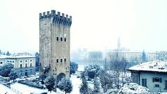 Torre di San Niccolò (Go Ciop Go) Tags: firenze florence toscana tuscany italia italy neve snow nevicata snowfall inverno winter 2018 torredisanniccolò tower