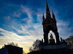 Prince Albert Memorial, London (that Geoff...) Tags: samsungs7 princealbertmemorial london sunset gb greatbritain uk unitedkingdom british