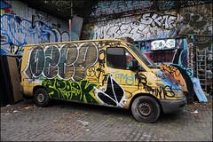 Dsep / Spook / Vade (Alex Ellison) Tags: dsep osv spook vade van southlondon urban graffiti graff boobs