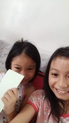 Sasha and I having fun (ghostgirl_Annver) Tags: friend friends girls teens preteens kids children fun annver