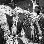 Rock strata by Derek Dewey-Leader